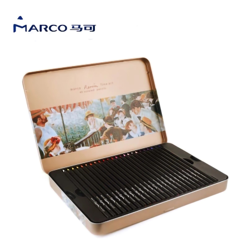 MARCO color black fresh pastel color ink pencil for artist painting school color pencil art stationery Professional drawing MARCO color black fresh pastel color ink pencil for artist painting school color pencil art stationery Professional drawing