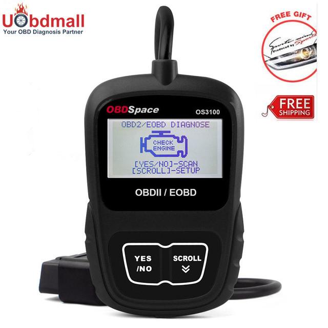 Universal OS3100 Automotriz OBD2 Escáner OBD Herramienta de Diagnóstico Lector de Código Auto Universal Del Coche Herramienta de Análisis