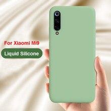 Luxus Flüssigkeit Silikon Stoßfest Telefon Fall Für XIAOMI Mi9 Mi8SE MIX3 Mi6 Redmi K20 Pro Hinweis 8 7 6A 6 pro Soft Gel Gummi Abdeckung