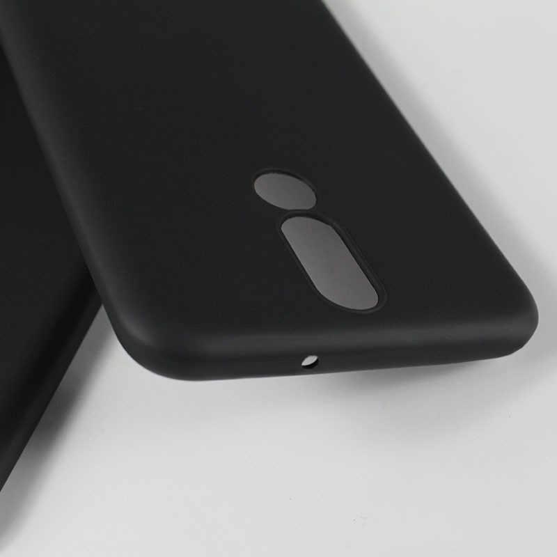 ソフト TPU マットケース Huawei 社 P20 Lite メイト 10 プロ P10 P8 P9 Lite 2017 Y9 2018 楽しむ 8 プラスノヴァ 3e のため 9 8 Lite 9i カバー