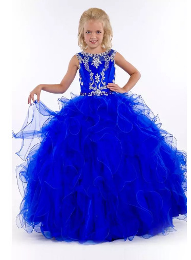 Online Buy Wholesale royal blue pageant dresses from China royal ...