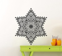 Snowflake Wall Pattern Sticker Frozen Winter New Year Christmas Vinyl Decal Home Interior Decoration Family Art
