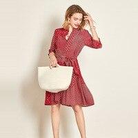 Шелк Цветочный плюс размеры Лето рокабилли для женщин s сексуальная ретро пляжная рубашка boho богемные платья красный плед цветок блок Мода