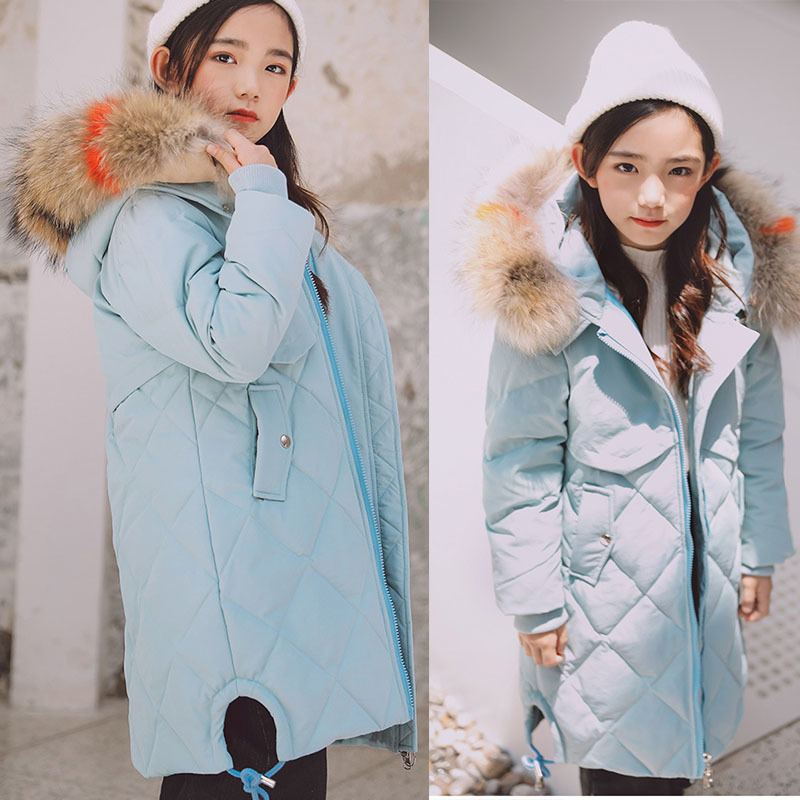 Christmas toddler girls down jacket with hood white duck down padded coat kids hooded outerwear big girls winter jacket long winter jacket women long coat zipper hooded padded jacket fashion coat plus size femela slim down cotton jacket outerwear qh0690