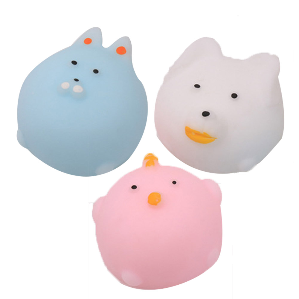 Cute Seals Squeezed Happy Class Toys Creative Dumpling Boring Decompression Vent Ball Fun Stuff Random Sent