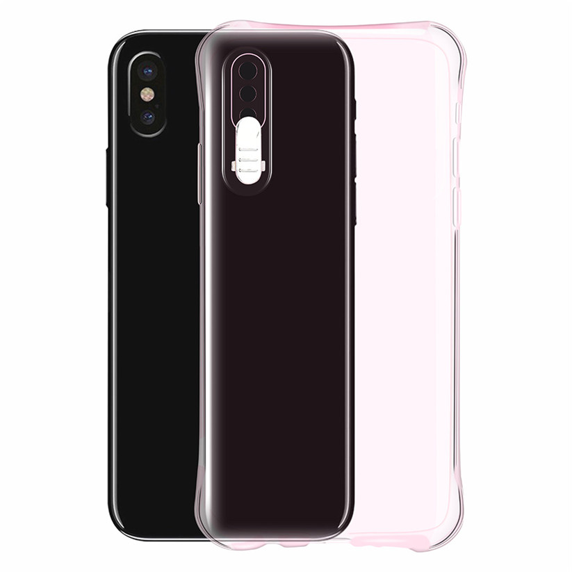 CARPRIE Mobile Phone Cases LED Flash Light Up Incoming Call Silicon Case Cover For iPhone X 5.8 inch td0206 dropship