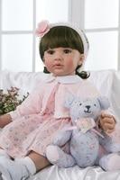 DollMai bebe girl reborn princess toddler silicone reborn dolls 24/60 cm child play house toy gift dolls baby alive bonecas
