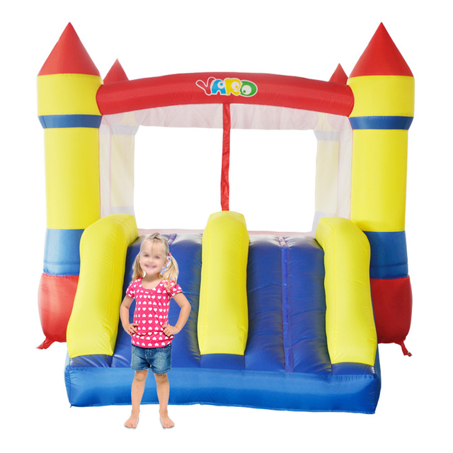 YARD Free Shipping In Stock Dual Slide Bouncy Castle Home Use Inflatables Jumping Park Cute Air Toy Combo