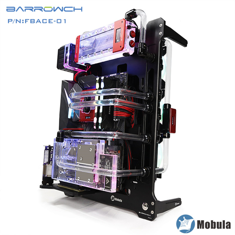 Barrowch Mobula Simple Integrated Modular Panel Case Water Cooling Assembly Loop Case DIY FBACE 02