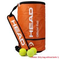 Head Offical Tenis Bag Single Shoulder Large Capacity Bolsa For 100pcs Balls Tennis Racket Sports Outdoor Training Accessories