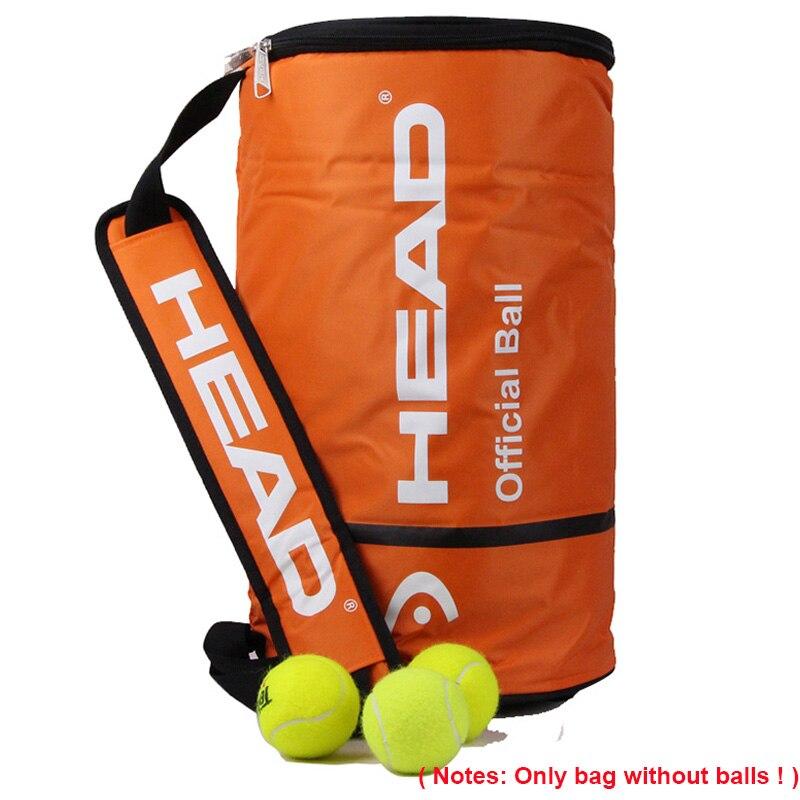 Tête Officiel Tenis Boule Sac Unique Épaule Grande Capacité Bolsa Pour 100 pcs Balle De Tennis Raquette Entraînement Sportif En Plein Air Accessoire
