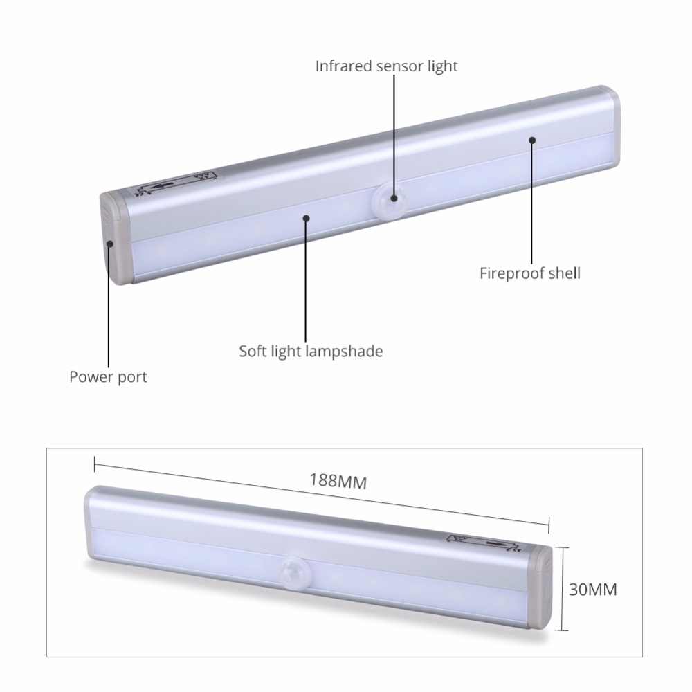 Wunderbar Batterie Led Leuchten Unter Küchenschränken Fotos - Küchen ...