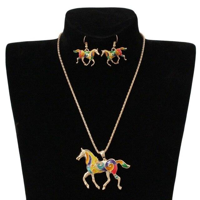 Cute Animal Jewelry Set...