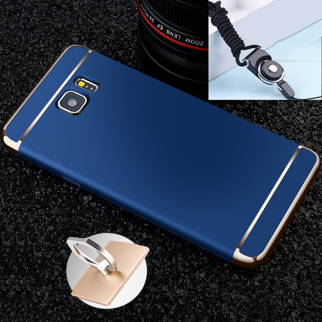 """Electroplated Phone Case Hard Fundas case For Samsung Galaxy Note 5 SM-N9200 5.7"""" Coque Phone Cases Cover DIYABEI"""