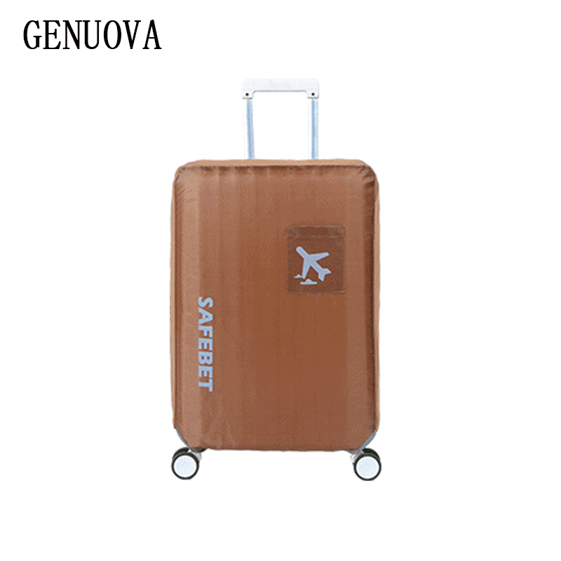 Travel Waterproof Luggage Cover Stretch Protective on The Road Wear-resistant Protective Suitcase Dust Cover for 18 To 30inch