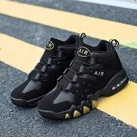 Basketball Shoes Men High top Sports Air Cushion Jordan Retro Basketball Athletic Mens Shoes Comfortable Breathable Sneakers