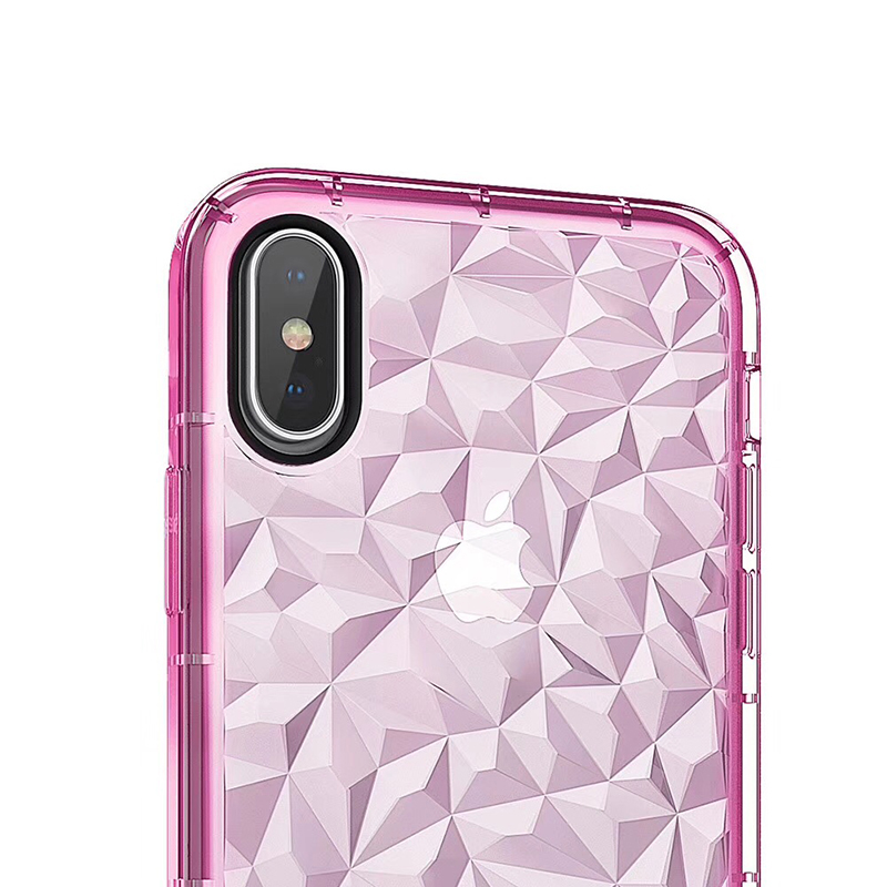 3D Diamond Pattern Phone Case For iPhone X Luxury Ultra Thin Soft TPU Cases For iPhone 7 8 6 6s Plus 5 5 S SE Shining Cover Capa (12)