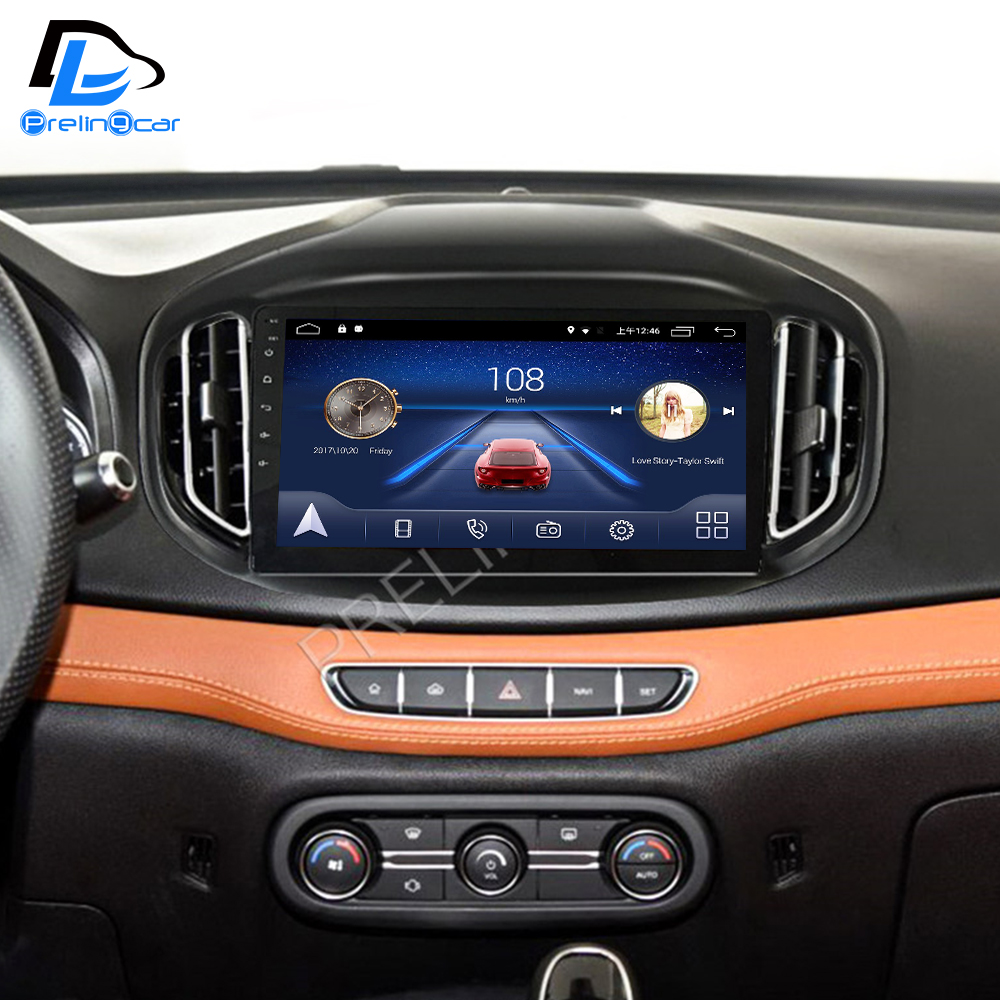 4G LTE Android 9.0 Car Gps Multimedia Video Radio Player In Dash For Chery Tiggo 7 2016-2018 Years Navigation Stereo
