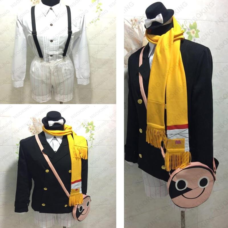 Anime Bungou Stray Dogs Yumeno Kyusaku Cosplay Costume Custom-made