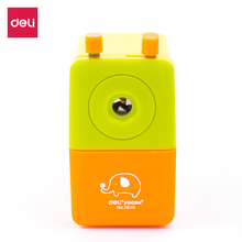 DELI E0616 Rotary pencil sharpener pencil cutter Classic cute sharpener knife smooth sharpening school accessories stationery deli 0665 magic pencil sharpener machanical school stationery rudder sharpener sweet hand roll kids cute gift brands