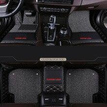 Car Believe car floor mats For skoda karoq kodiaq 2018 accessories rapid spaceback octavia fabia 1 superb 2 yeti carpet rug недорого