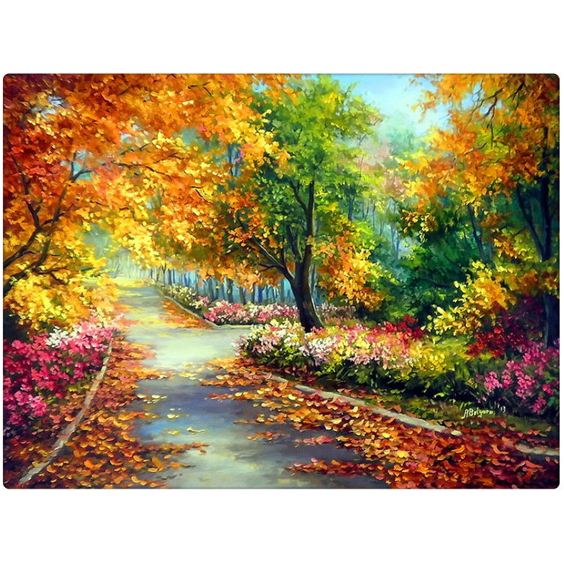 High quality ! 5D Full Resin Square Diamond Diamond Painting Cross Stitch Embroidery Needlework Home Decoration  ZX