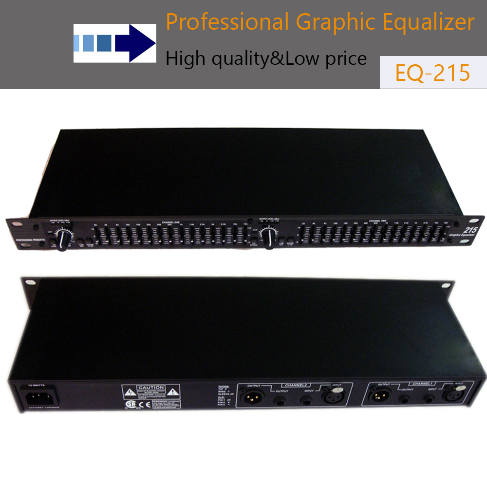 Professional audio equalizer eq215 Dual 15 Band Graphic Equalizer Power equalizer  dj equipment professional sound equipmentProfessional audio equalizer eq215 Dual 15 Band Graphic Equalizer Power equalizer  dj equipment professional sound equipment