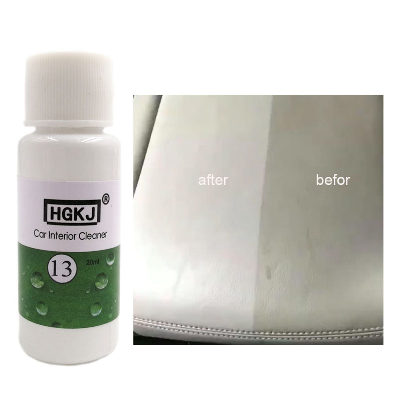 Car Interior Polishing Leather Seat Plastic Cleaner Detergent Liquid High Concentration Liquid Car Interior Cleaner With Sponge