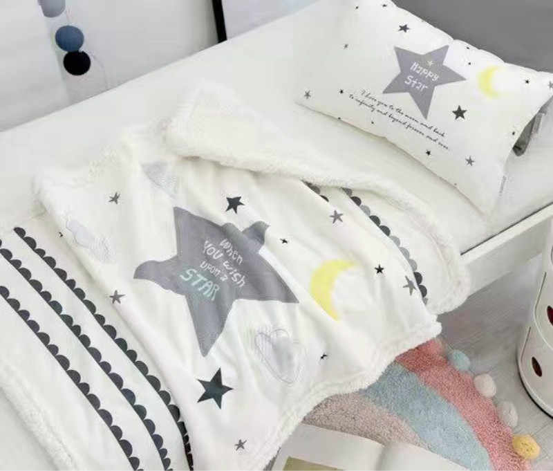 Winter Kids blanket newborn swaddle boys girls Coral Fleece blankets cobertor bebes mantas couverture polaire bebek battaniye
