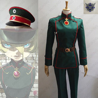 Anime Saga of Tanya the Evil Youjo Senki Tanya von Degurechaff Cosplay Costume Custom Made