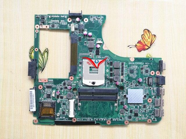 Материнской Платы ноутбука для ASUS N55SF N55SL N55S REV 2.0 HM65 DDR3 полный испытанная деятельность