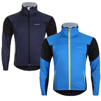 Hot Sell! SAHOO Mens Cycling Jersey Windproof MTB Autumn Winter Cycling Jacket Waterproof Thermal Fleece Ropa Ciclismo Jersey