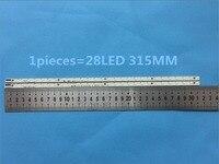 2 peças/lote L50E5000A V500H1 LS5 TLEM4 V500H1 LS5 TREM4 V500H1 LS5 TLEM4 CONDUZIU a lâmpada tira V500HJ1 LE1 LS5 28LED 315mm  peça usada Efeito de Iluminação de palco     -