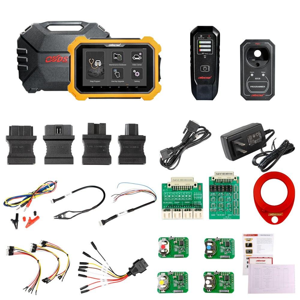 OBDSTAR X300 DP Plus X300 PAD2 pakiet C pełna wersja 8 cal Tablet wsparcie programowania ECU i Toyota inteligentny klucz