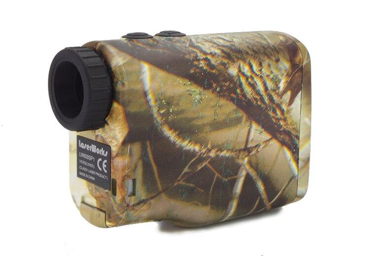 Camouflage 6x wasserdichte golf laser entfernungsmesser laser