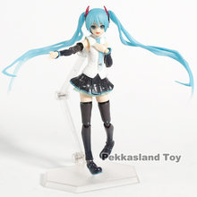 Figma 394 Hatsune Miku Character Vocal Series 01 V4X PVC Action Figure Collectible Modelo Toy(China)