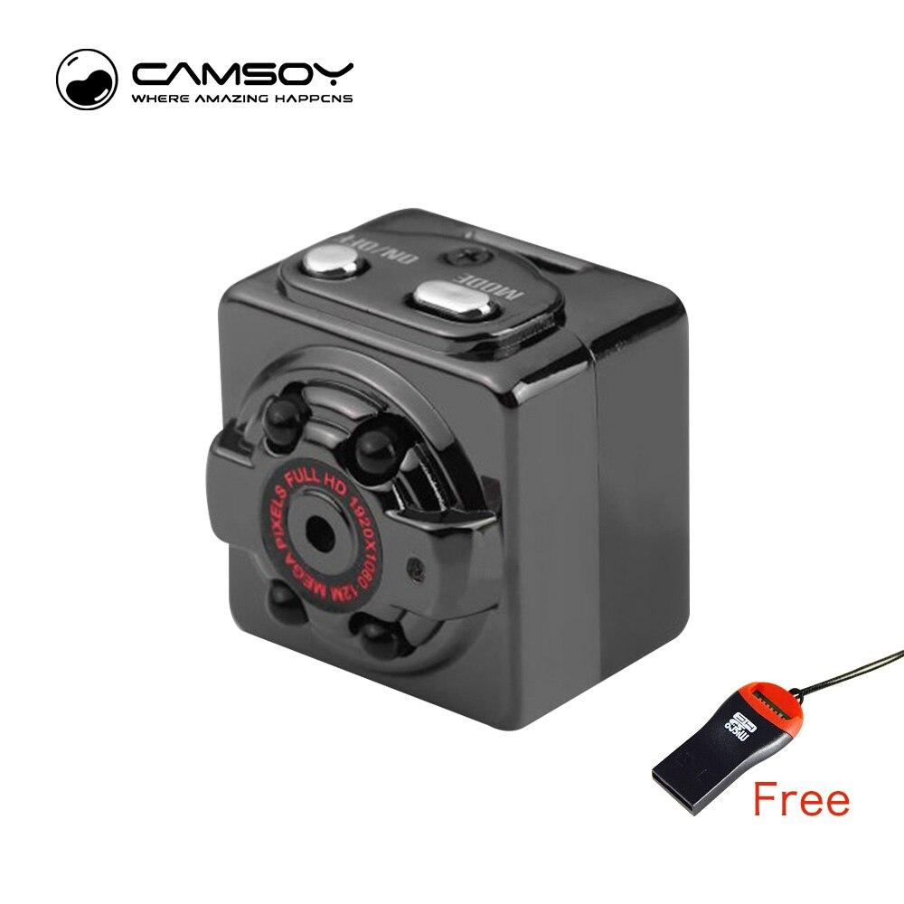 SQ8 Mini Camera 1080P 720P HD Kamera 12M Infrared Night Vision Micro Camera Motion Sensor Mini