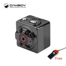 SQ8 мини Камера 1080 P 720 P HD Kamera 12 М Инфракрасный Ночное видение Micro Камера движения Сенсор Mini DV DVR видеокамера наименьшее веб-камера