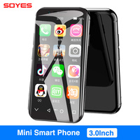 SOYES XS 3.0'' Small Smartphone Android 6.0 4G WIFI GPS Google Play 3GB 32GB Super mini Pocket Auxiliary Mobile Cell Phone