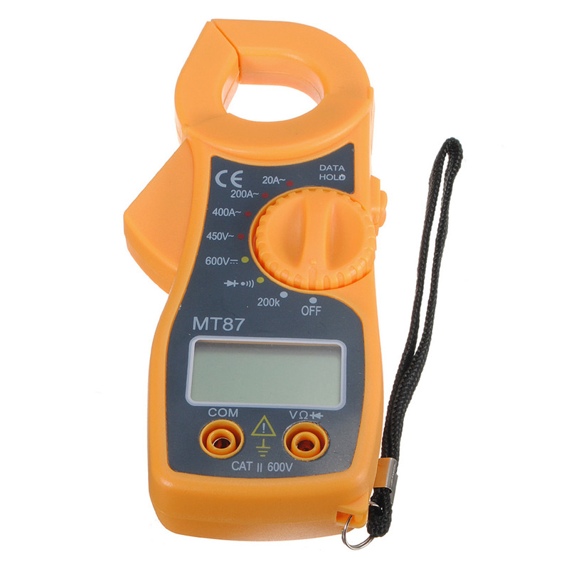 MT87 Digital Clamping Type Multimeter Electronic Tester AC/DC Meter Current Voltage Tester Clamp Meter image