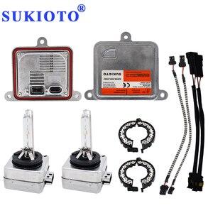 Image 1 - SUKIOTO Xenon D1S xenon projector lens bulb kit 55W D3S 6000K 4300K 5000K canbus hid kit Xenon electronic D1S ballast D1R D3R
