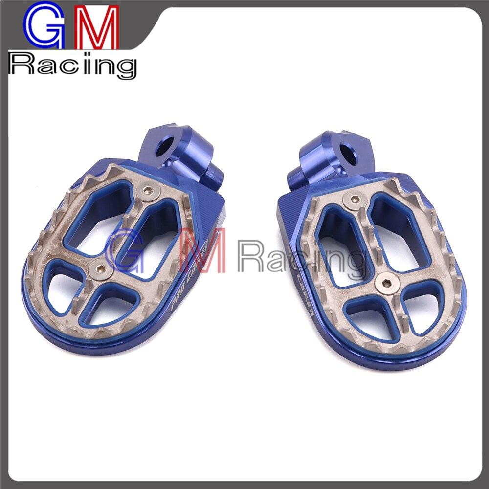 Motorcycle Foot Pegs Rest Footpegs Pedal For YAMAHA YZ85 YZ125X YZ250 YZ250F YZF250 YZ426F YZF426 YZ450F