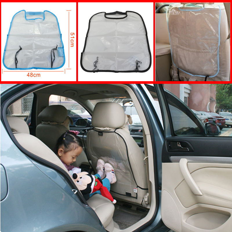 New Car Seat Cover Protector Auto Back Seat Cover Kick Mat