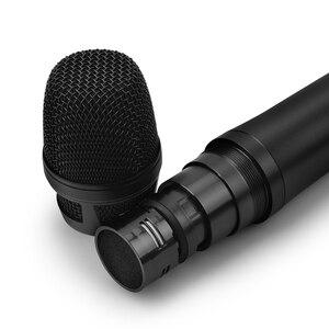 Image 4 - EYK EU 62 True Diversity 2 ręczny mikrofon bezprzewodowy UHF 2*100 kanał wybieralna częstotliwość idealna na koncert wokalny na scenie