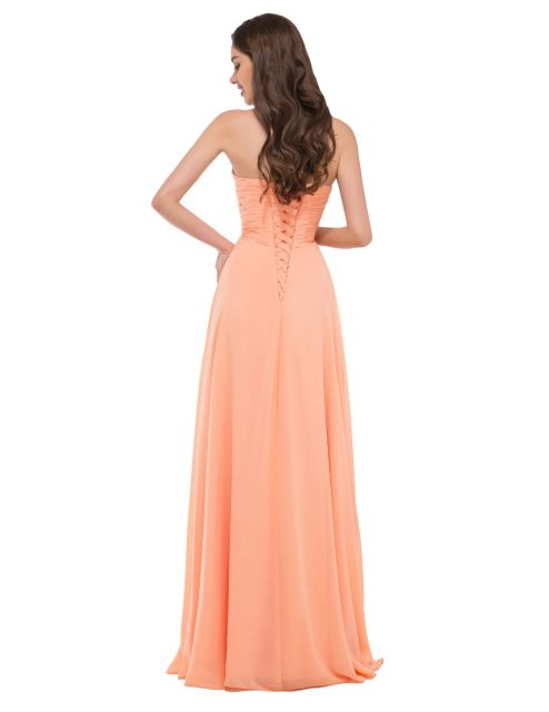 Online Shop Elegant Long Evening Dresses Grace Karin Women Strapless