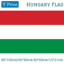 Free shipping 90*150cm/60*90cm/40*60cm/15*21cm Hungary Flag Polyester 5*3FT For World Cup / National Day / Olympic Games liberation day hungary gifts