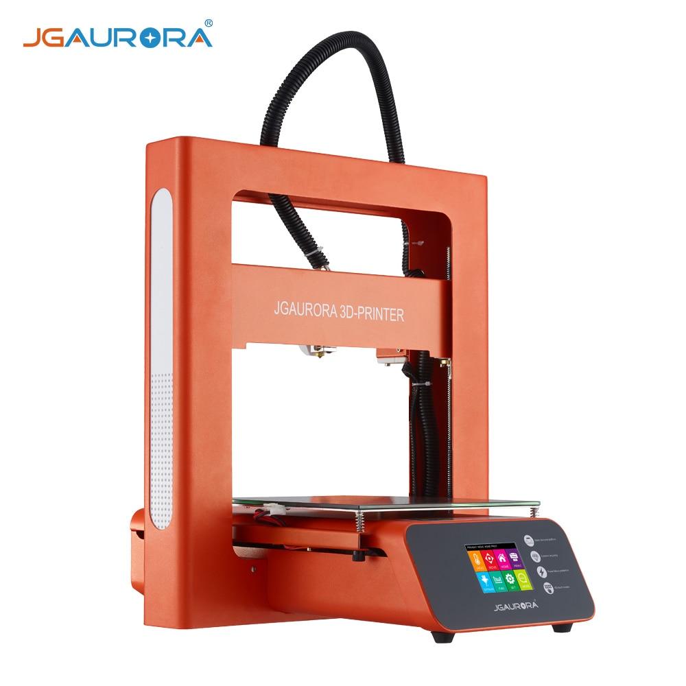 JGAURORA A3S 3D Printer Kit DIY Full-metal Frame 2.8 Touch Screen Resume Printing Function Building Volume 20.5 * 20.5 * 20.5cm gzlozone diy kit njw1194 remote volume conrol kit treble