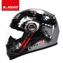 100% original LS2 FF358 full face Racing Motorcycle Motocross safety helmet ECE Certification man woman casco moto casque