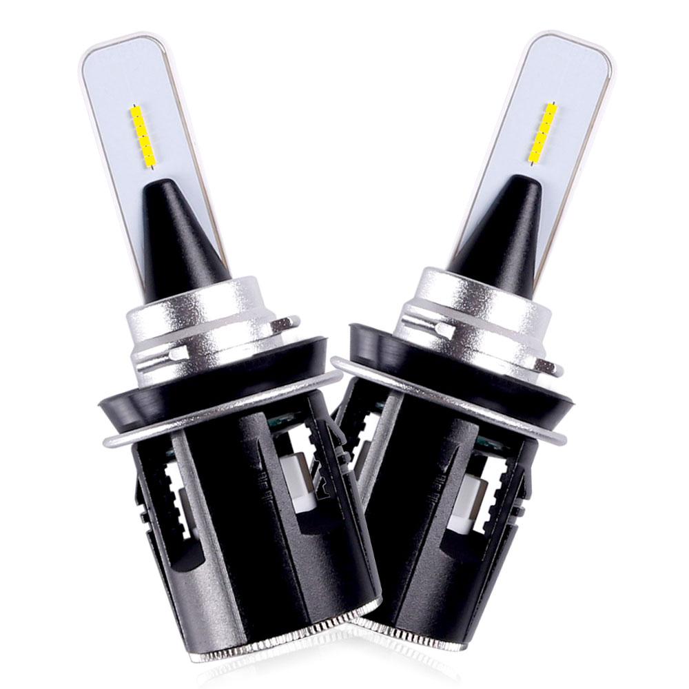 2pcs Sanvi 24W B6 H1 H4 H7 H11 HB3 9005 HB4 9006 Car LED Headlight Bulbs 3600LM 6000K Auto Light Fog Lamps LED Car Lights