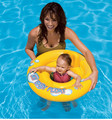 Inflatable Swimming Accessory Arm Float And Seat Float Double Usage Baby Inflatable Swimming Kit Eco-friendly PVC